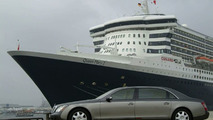 Maybach in Supporting Role for QM2's Visit to Germany