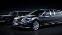 Mercedes-Maybach Pullman unveiled ahead of Geneva