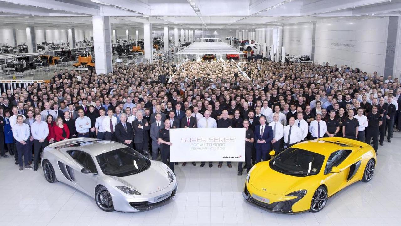 5000th McLaren Super Series