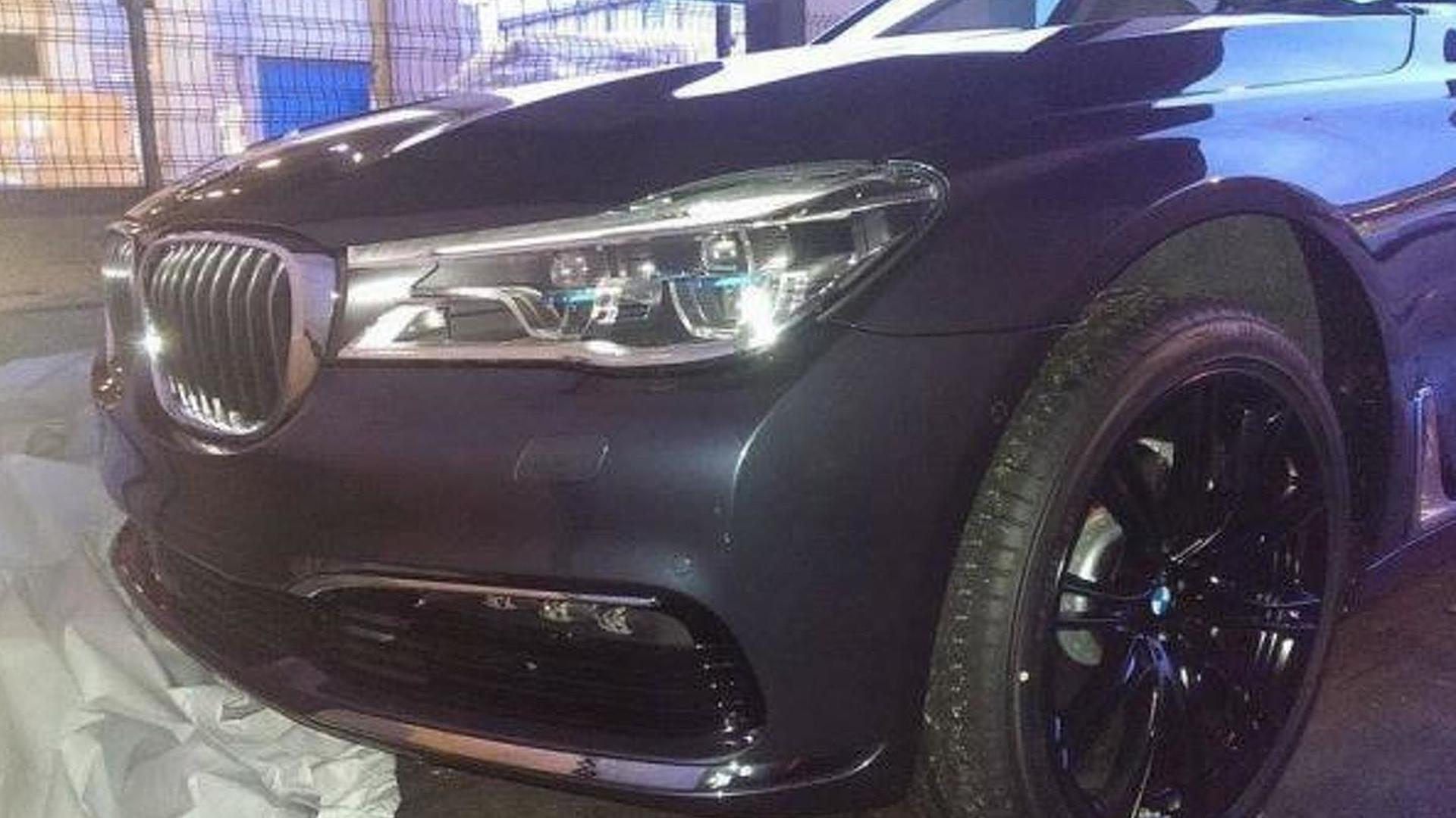 2016 BMW 7-Series caught undisguised
