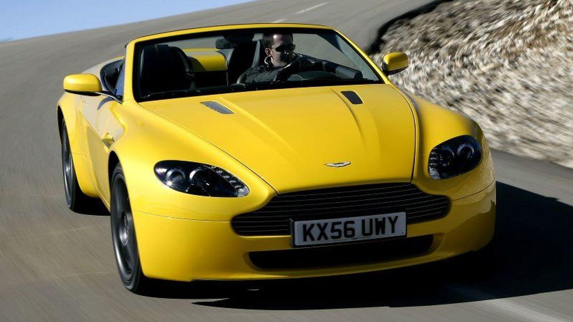 WCF Test Drive: Aston Martin V8 Vantage Roadster