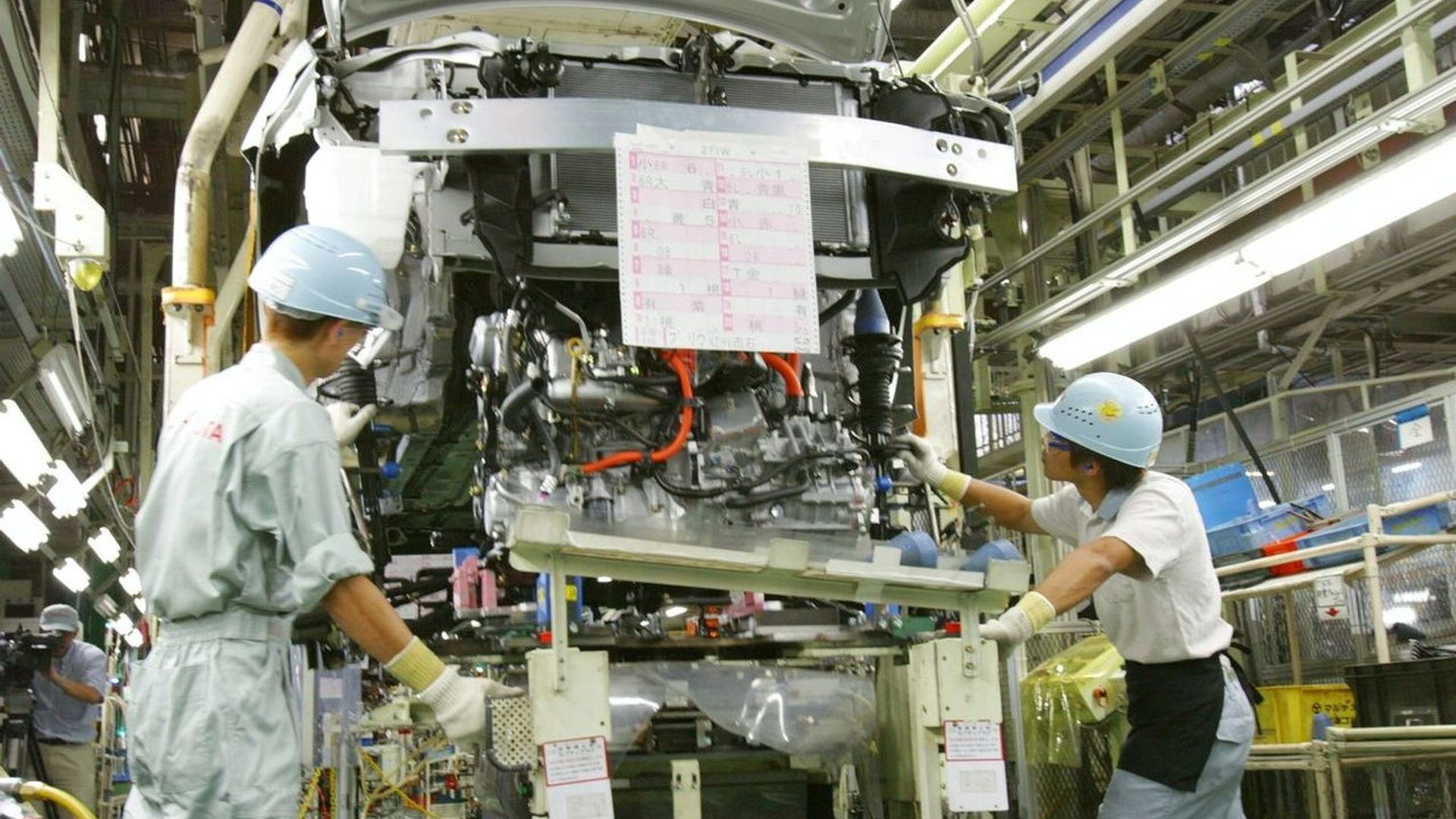 Japanese manufacturers halt production following severe earthquake