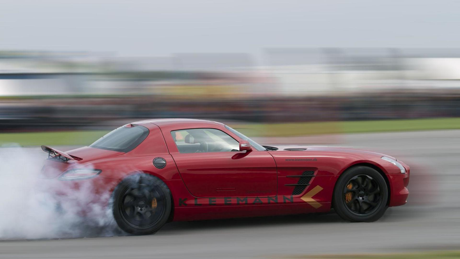Kleemann supercharges the Mercedes SLS AMG