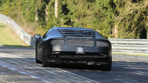 Lamborghini Cabrera spied on video at Nürburgring for first time