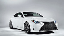Lexus RC 350 F SPORT unveiled prior to Geneva launch