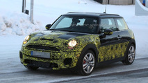 2015 MINI John Cooper Works spied for the first time