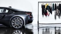 Carbon fiber dress inspired by BMW i