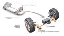 Audi reveals energy capturing suspension technology