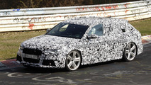 New Audi RS6 Avant first spy photos at Nurburgring