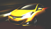 Hyundai HB20 new compact for Brazil teased