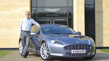 Aston Martin to auction CEO's Rapide for Japan victims