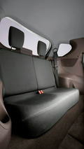 Toyota iQ rear seating arrangement