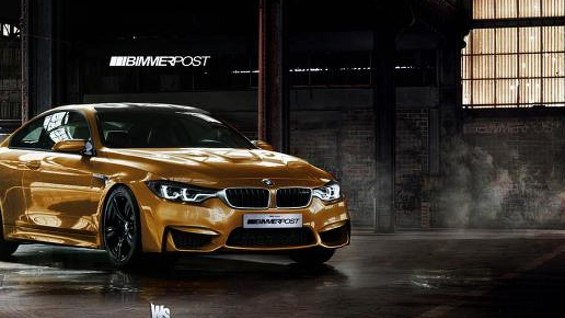 bmw m4 coupe and 4 series gran coupe rendered. Black Bedroom Furniture Sets. Home Design Ideas