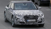 2015 Audi A8 facelift spied for the first time