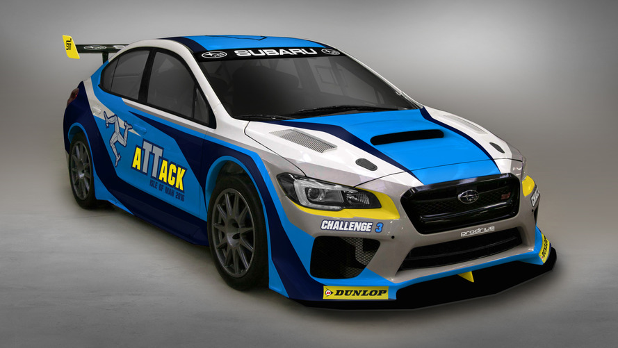Special Subaru WRX STI to tackle Isle of Man TT record