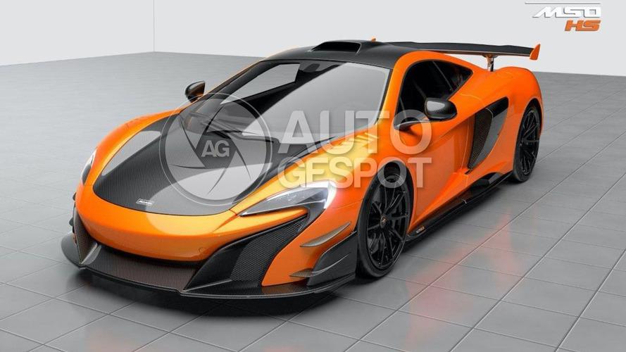 McLaren 688 HS renderings leaked?