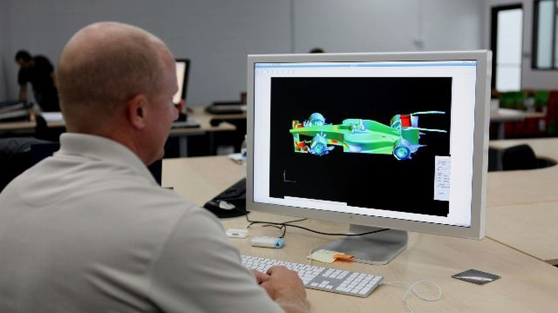 USF1 car also designed without wind tunnel
