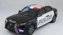 Carbon E7 Police Car