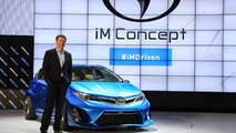 Scion iM concept live in Los Angeles