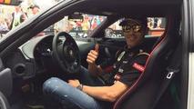 Pastor Maldonado gets a new Lotus Evora S