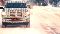 Nissan Titan cold weather testing