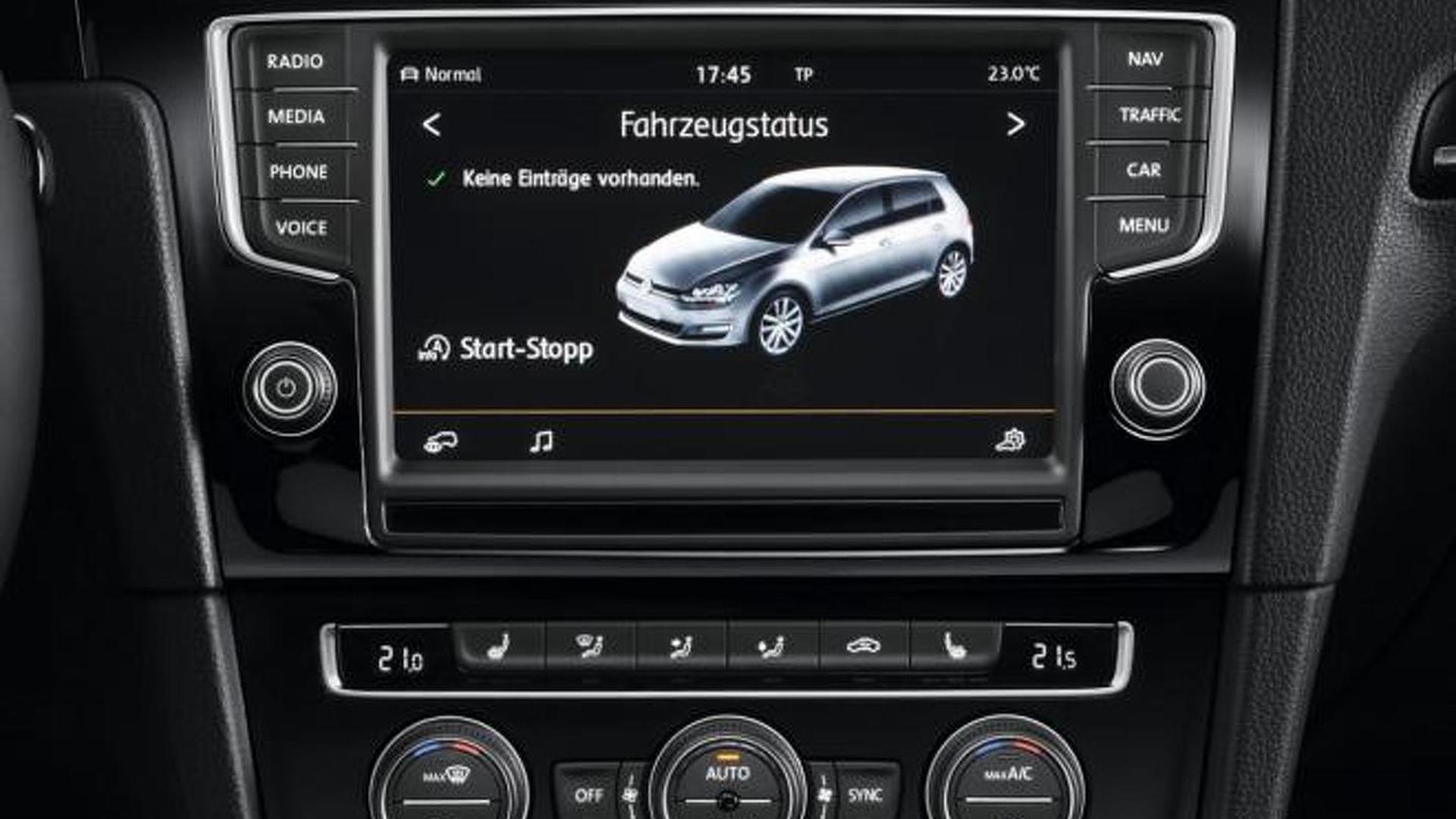 volkswagen confirms car net infotainment system in u s. Black Bedroom Furniture Sets. Home Design Ideas