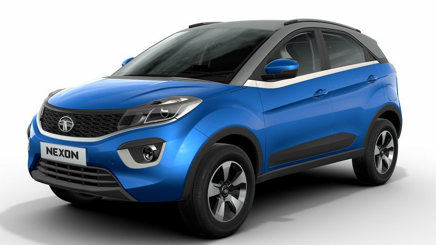 Tata Nexon crossover visits Auto Expo as production model