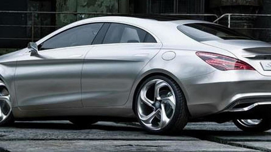 Mercedes-Benz Concept Style Coupe leaked