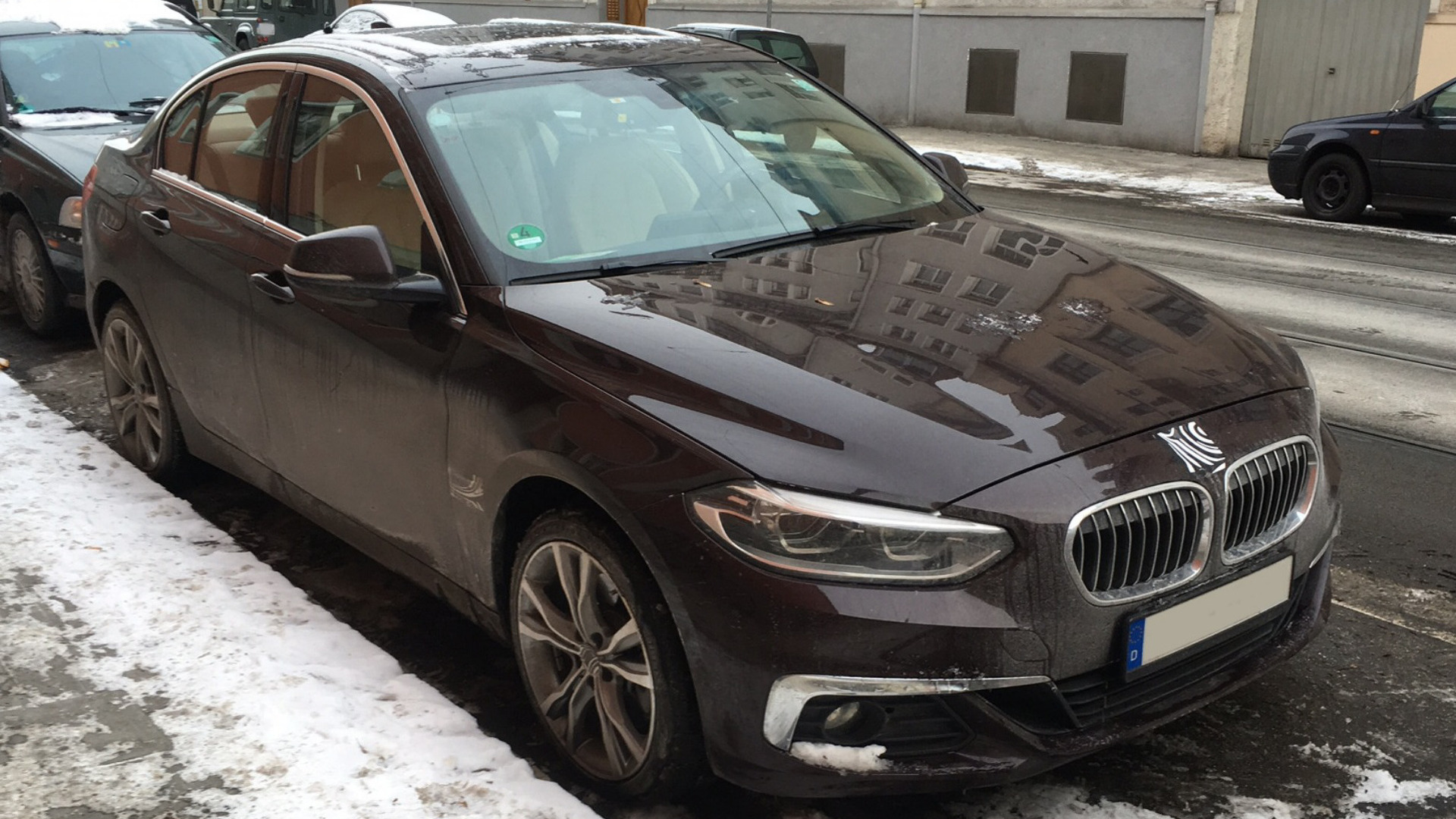 Bmw 1 Series Sedan Spotted On Street In Munich Coming To