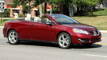 2010 Pontiac G6 Convertible Facelift Caught Completely Undisguised