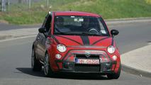 SPY PHOTOS: Fiat 500 Abarth