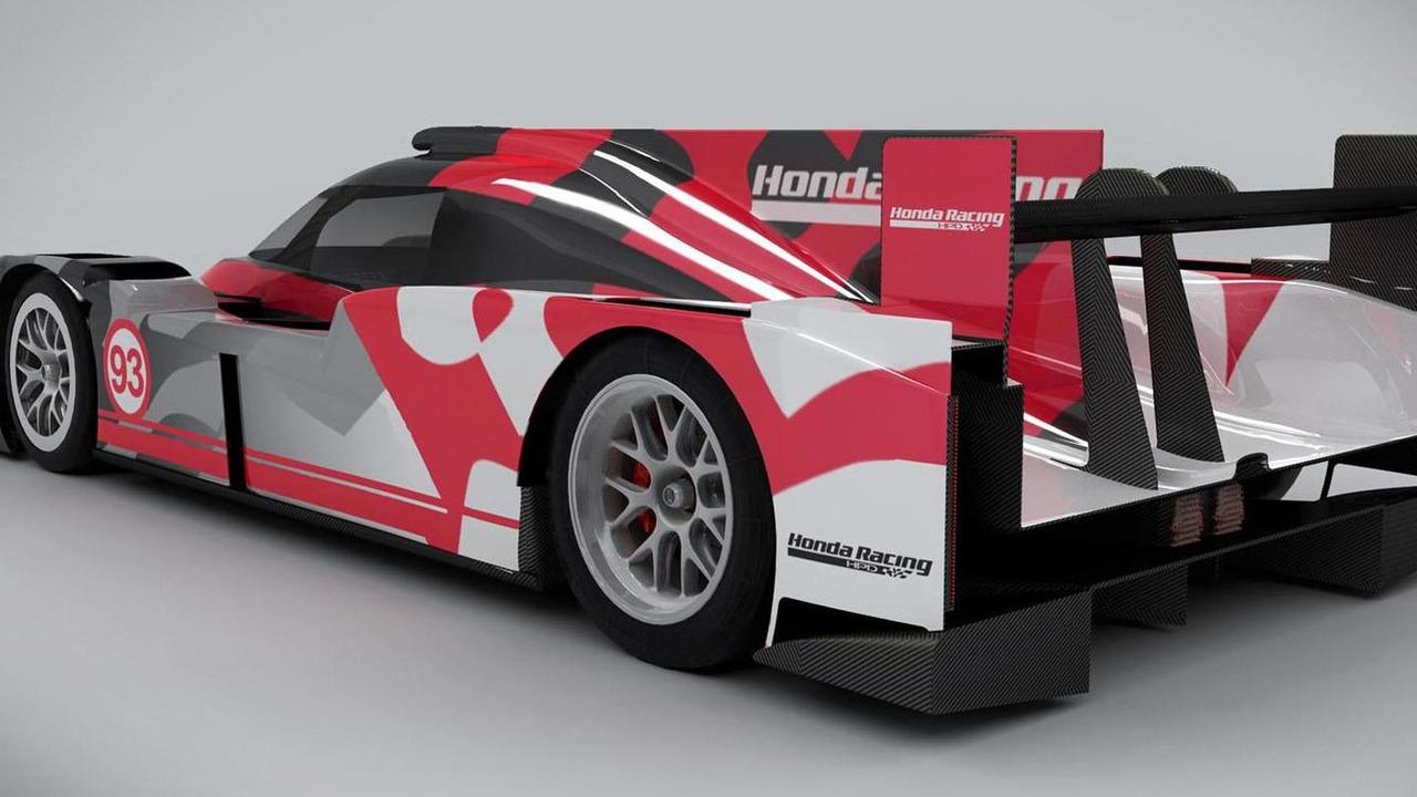 Honda Performance Development ARX-04b LMP2 Coupe