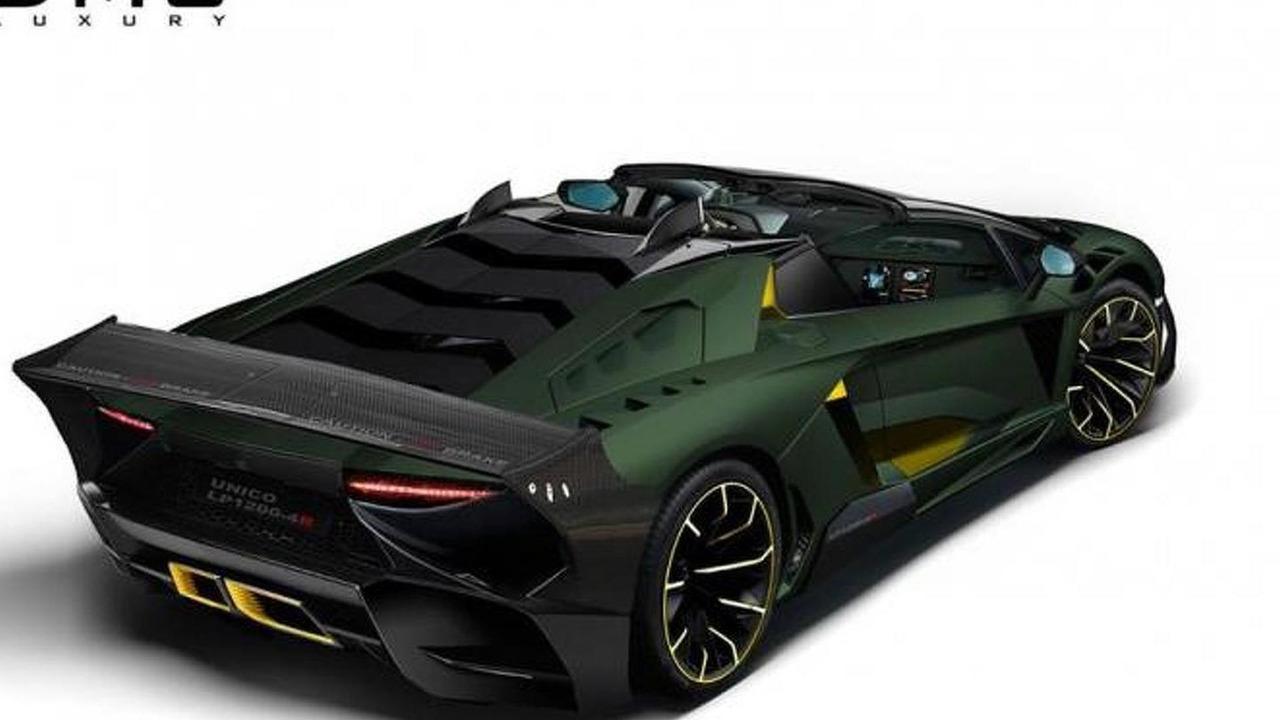 Lamborghini Aventador LP1200-4R concept by DMC