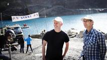 The Volvo technicians Jan-Inge Svensson and Sten Ragnhult were present on set in Spain.