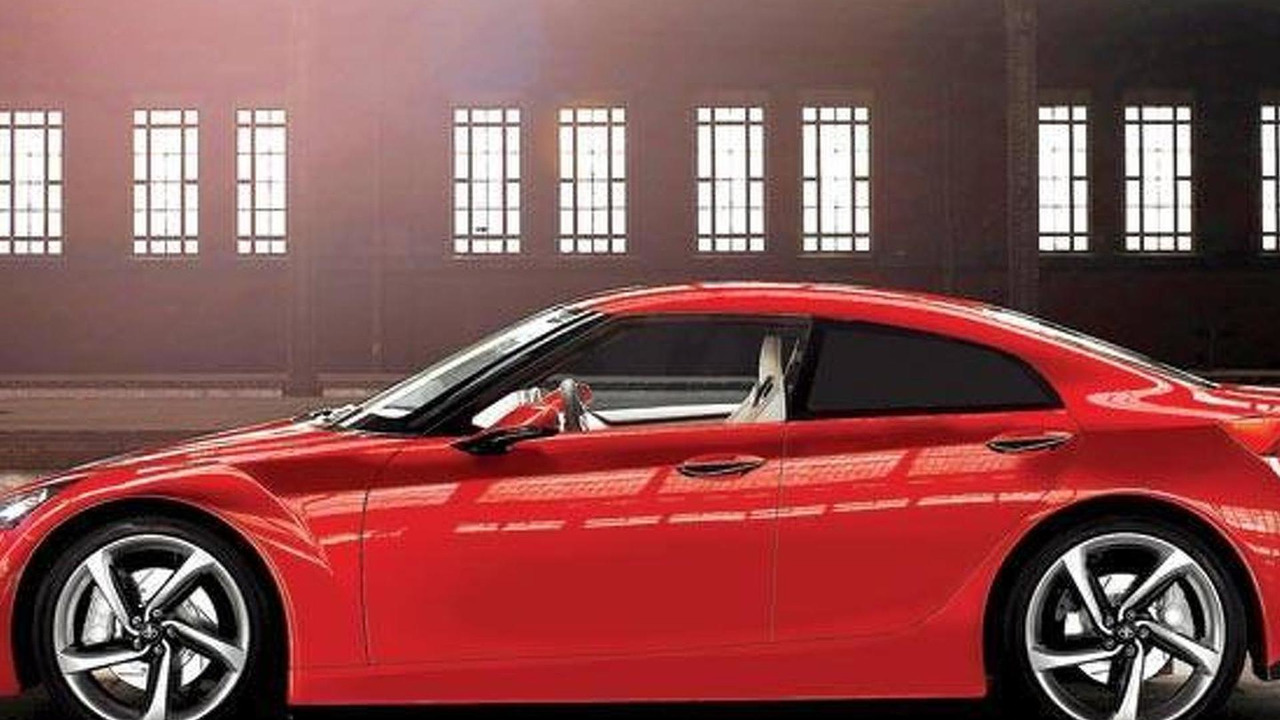 Toyota GT 86 Sedan concept 03.11.2013