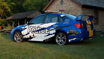 Police in Greenfield, Wisconsin drives a 2012 Subaru WRX STI