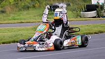 Aleksi Potter junior karting driver