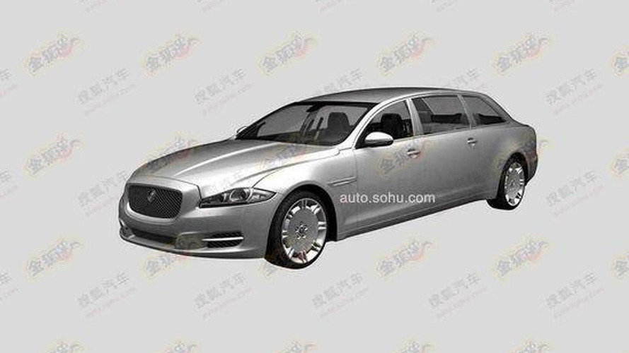 Jaguar extra-long wheelbase XJ heading to China ?