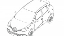 Renault Captur production version revealed in design sketches