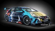 Goodwood WTCC Art Cars