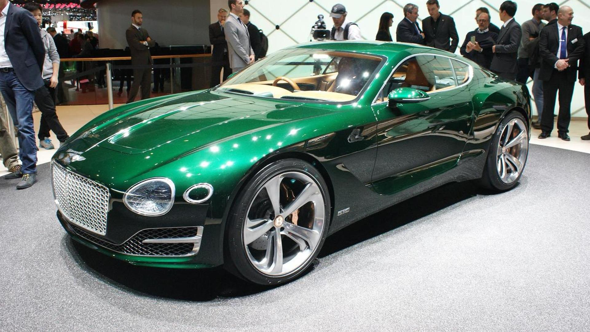 Bentley hints EXP 10 Speed 6 concept will spawn two-seater sports car