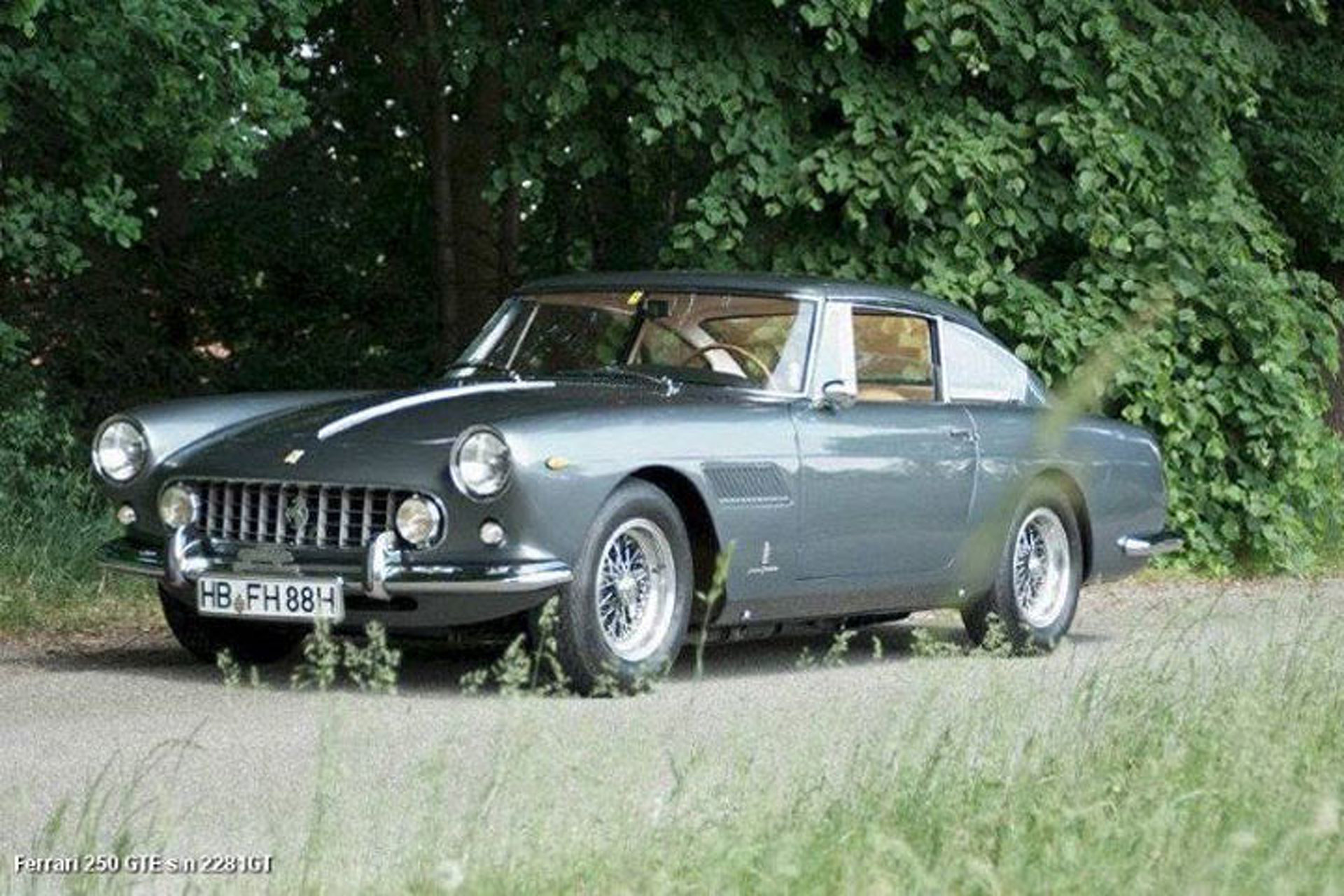 STOLEN! Help Find This Missing Ferrari 250 GTE