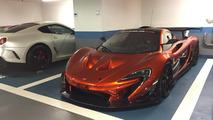Is this a road-legal McLaren P1 GTR?