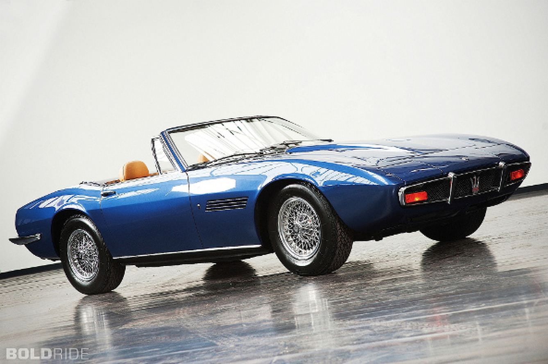 Bold Ride of the Week: 1970 Maserati Ghibli Spyder