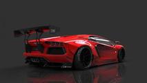 Lamborghini Aventador gets radical styling from Liberty Walk