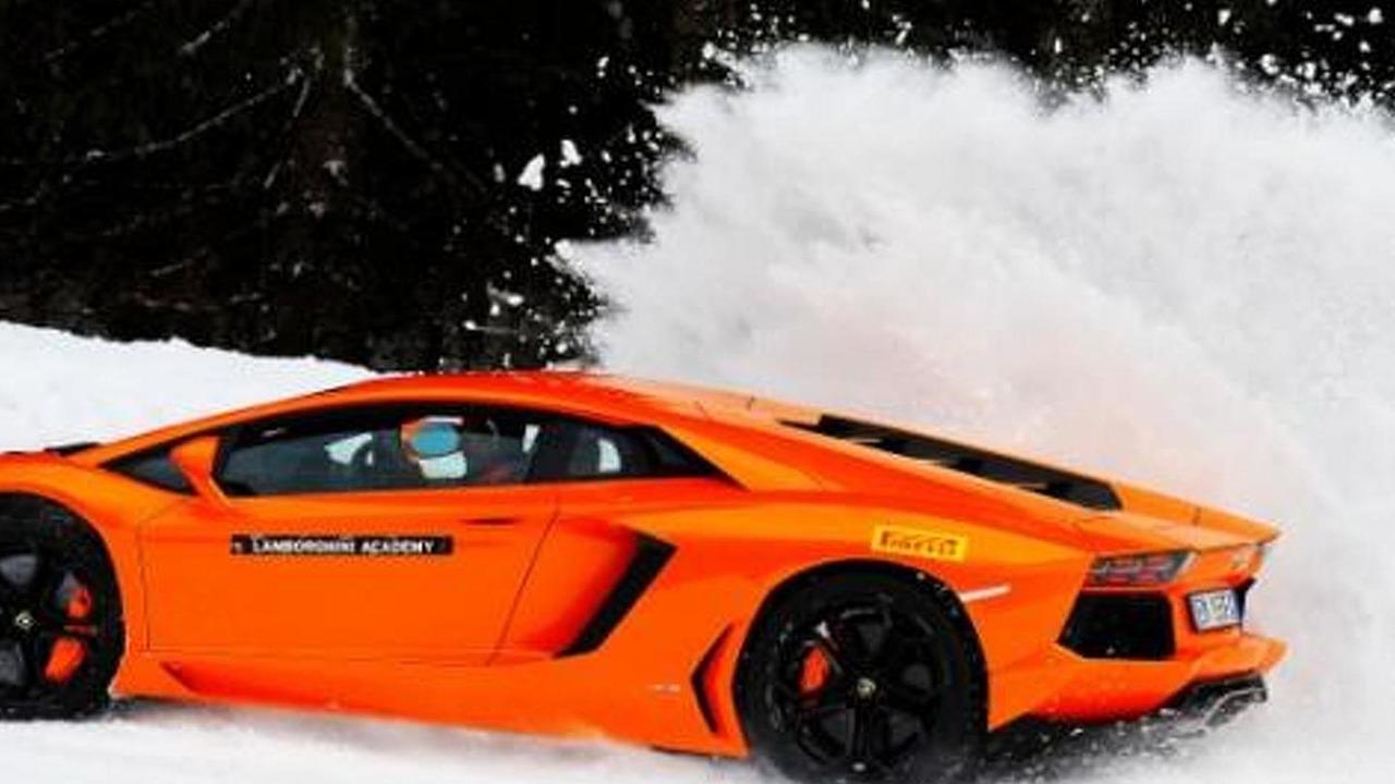 Lamborghini Aventador Winter Accademia