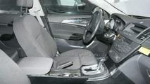 Opel Insignia interior spy photos