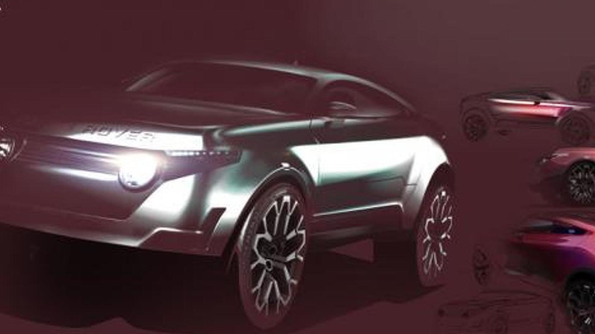 Range Rover LRGT Concept rendered