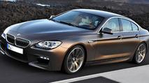 2013 BMW M6 GranCoupe rendering 19.1.2012