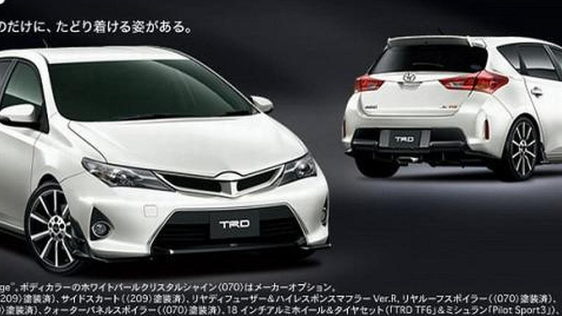 Toyota Auris due for the hot hatch treatment?
